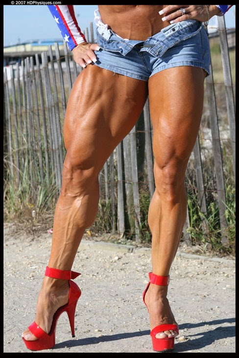 Betty Viana Female Muscle Legs
