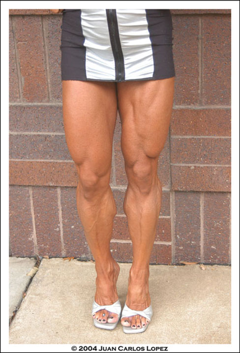 Monica Martin Female Muscle Legs