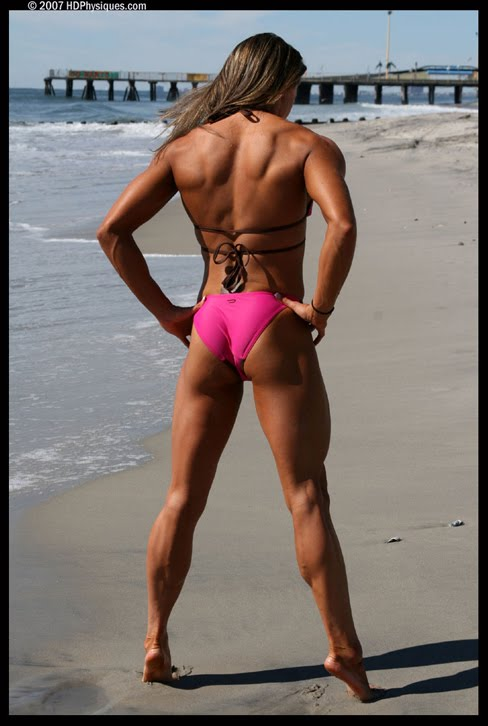 Erin Riley Female Muscle Legs