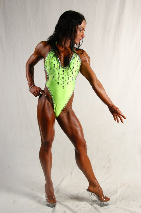 Nicky Campbell Female Muscle Legs