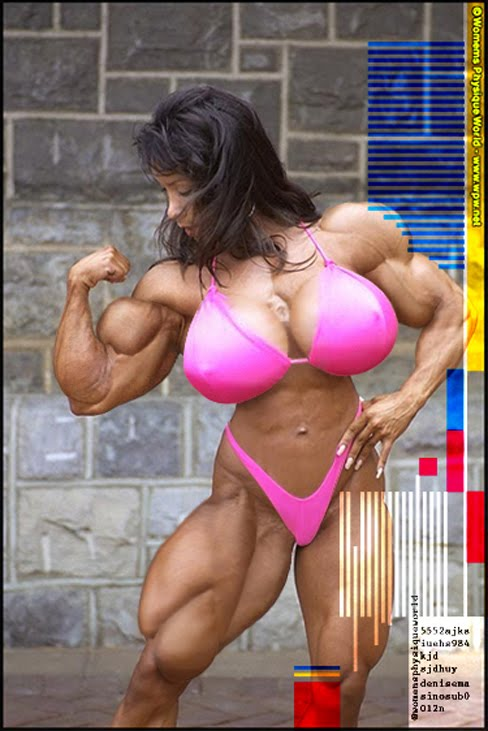 Denise Masino Female Muscle Morphs Bodybuilding