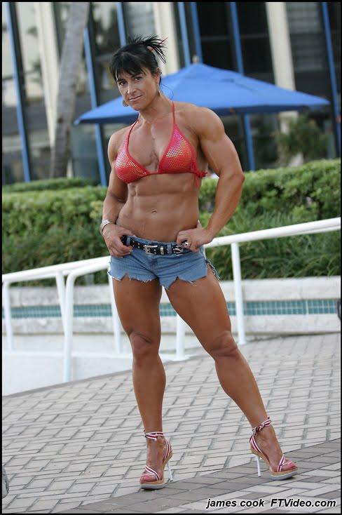 Nursel Gurler Female Muscle Bodybuilder FTVideo