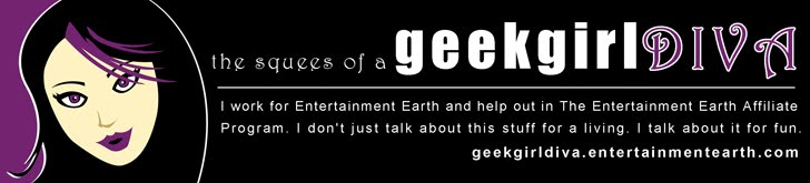 Geek Girl Diva Banner By Justin Woodie - Justinwoodie.com