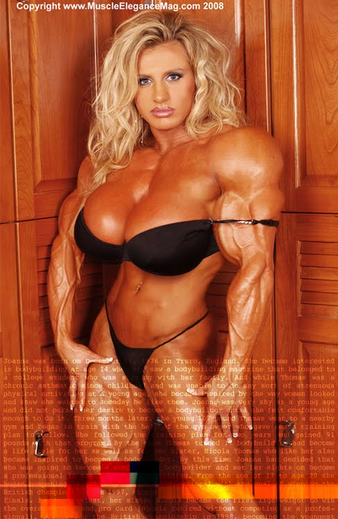 Joanna Thomas Female Muscle Morphs Bodybuilder