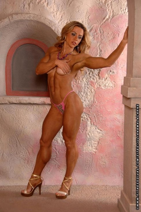 Juliana Malacarne IFBB Pro Figure Competitor Female Muscle