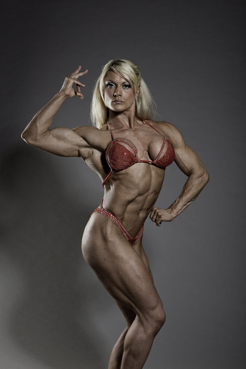 Lisa Cross Female Muscle Bodybuilder Hottie