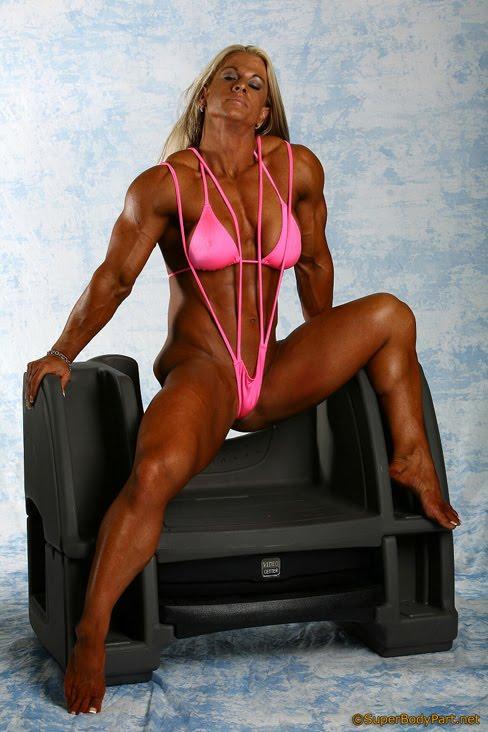 Krissy Murrell Female Muscle Bodybuilder Hottie