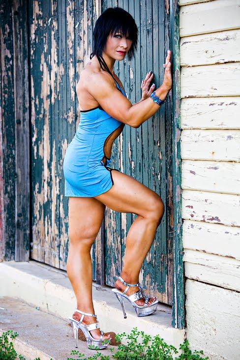 Christine Zadel Female Muscle Bodybuilding
