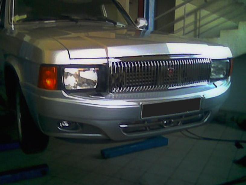Внешний тюнинг ГАЗ 3102