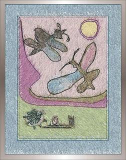 motyle ślimak i biedronka