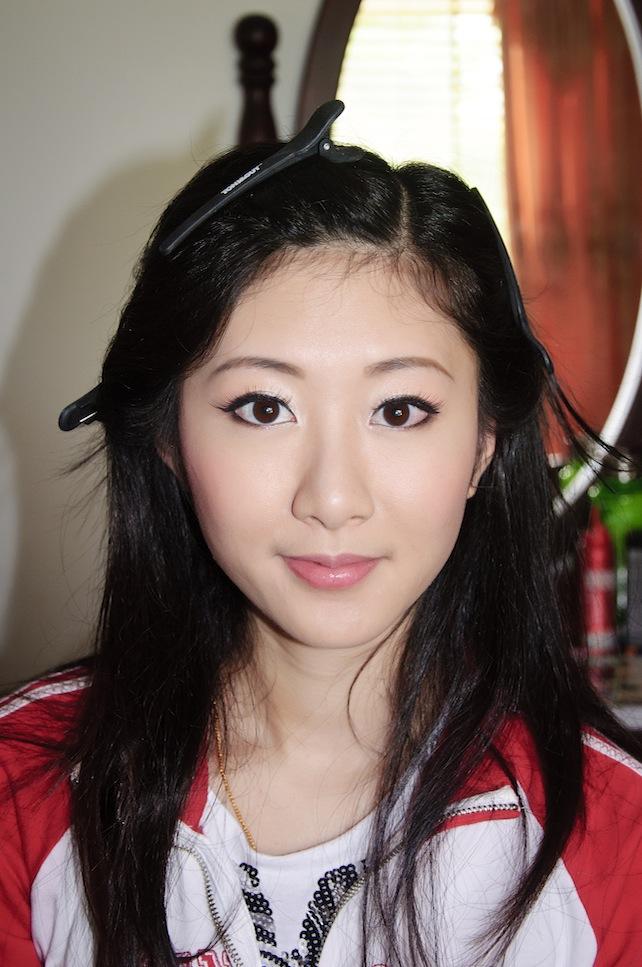 Brisbane Asian Brides Hair Makeup