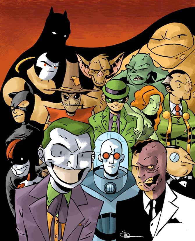 [batman+villains]