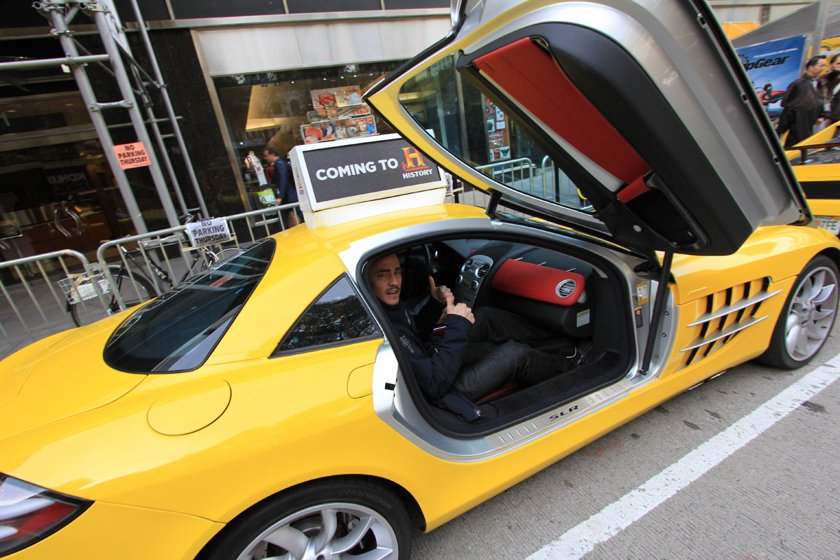 Jza Industries Us Top Gear Promo Ride In A Supercar Taxi
