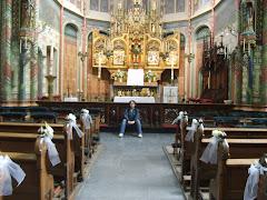 Nella bellissima chiesa di S. Willibrordo (St Willibrordus Kerk) ad Utrecht (2008)