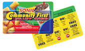 Sonic Cards for only $5 Donation plus postage