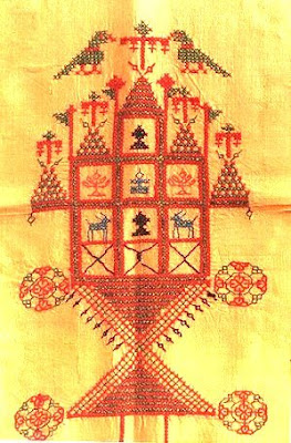 Kashidakari+embroidery