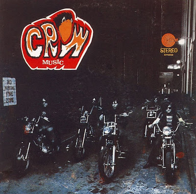 Crow - Crow Music & Crow By Crow (1969/1970 US Strong Bluesy Hard Rock - Wave)