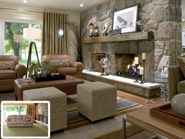 Live creating yourself designers i love divine design - Candice olson fireplaces ...