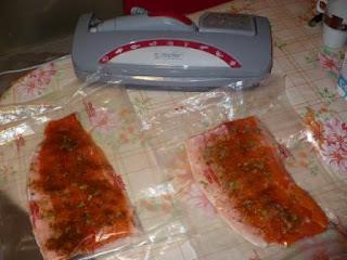 Форель соленая в Вакси-пакете