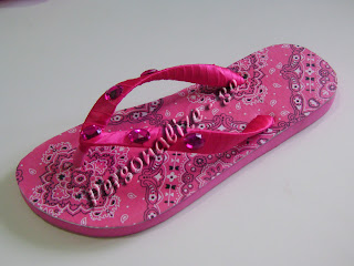 Hawaiian pink rhinestones