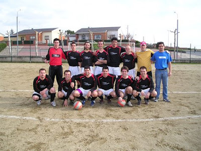 Equipo de fútbol de Bernardos. 2007-2008