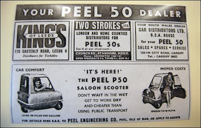Peel 50-Smallest Car