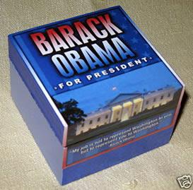 OBAMA TRINKET BOX
