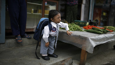 Nepal's shortest man
