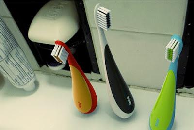 Upstanding Toothbrush
