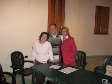 Vailate  .. 20 Aprile 2009- Consiglio Direttivo del Filo Con Presidente Flavia e Vice Presidente SM
