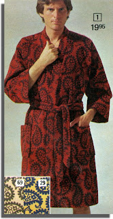 Paisley robe
