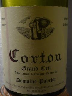 Domaine Pavelot - Corton Grand Cru - 2005