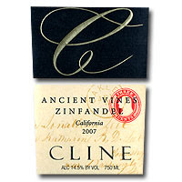 cline - ancient vines - zinfandel - 2007 - bouchon