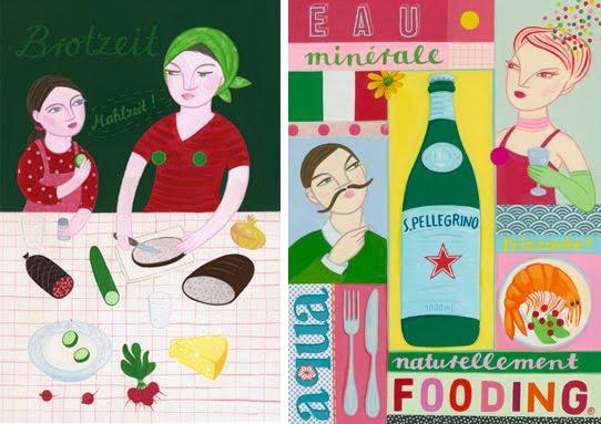 Joëlle Wehkamp: La nonna La cucina La vita