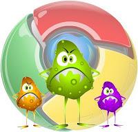 Logo virus Chrome