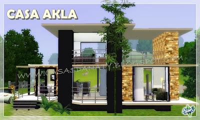 Casa akla the sims 3 - Casas bonitas sims 3 ...