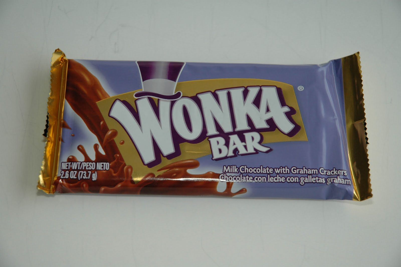 Wonka Scrumdiddlyumptious Chocolate Bar