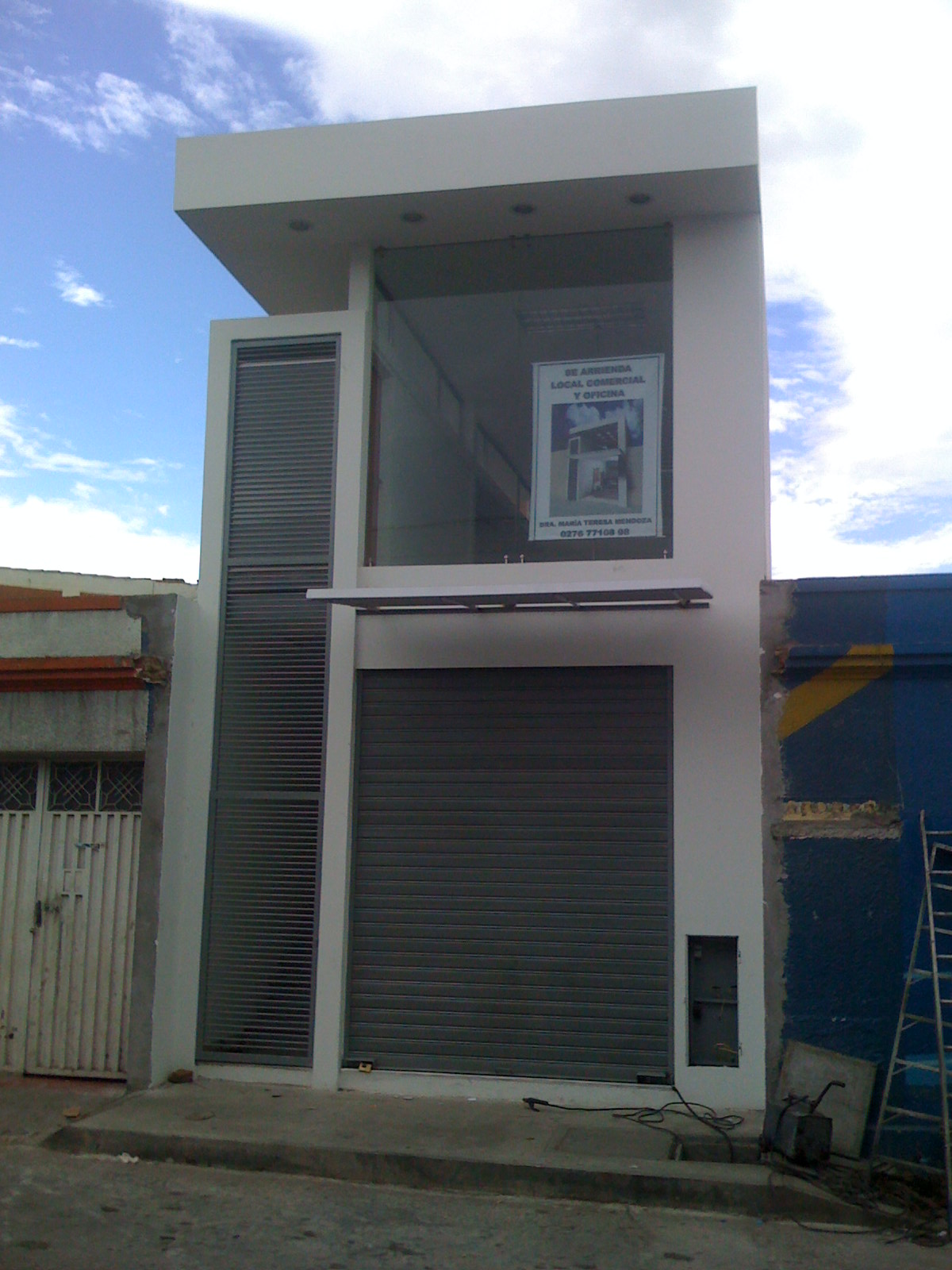 Arquitectura local comercial san antonio for Local arquitectura