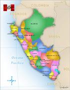 Himno del PerúMusica, Mapa y Bandera (mapa politico peru lukenfer)