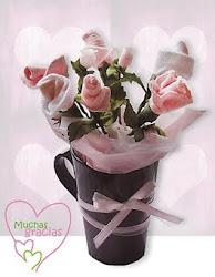 Mug de Flores Niña