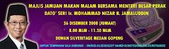 Jamuan Makan Malam Bersama MB Perak