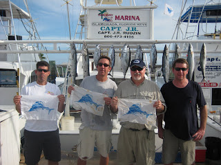 3 sailfish flags