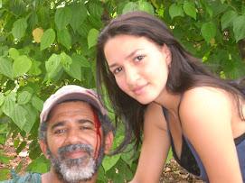 Adhum Martinez Y Pamela. Dos de los Personajes del Mito Ciguapa