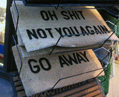 Come In Go Away Doormat My Pinoy Humor Blog