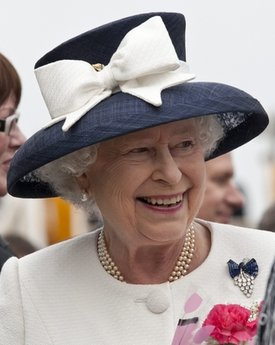 ICHEOKU, THE QUEEN OF ENGLAND VISITS NEW YORK!