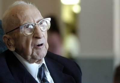 WALTER BREUNING, WORLD OLDEST MAN MARKS HIS 114TH BIRTHDAY!