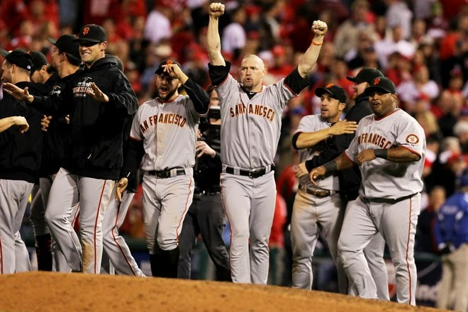 SAN FRANCISCO GIANTS DEFEATS PHILADELPHIA PHILLIES, GOES  FOR WORLD SERIES!