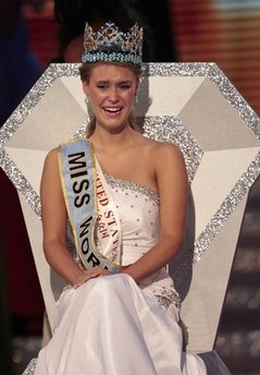 ALEXANDRIA MILLS, MISS AMERICA IS NEW MISS WORLD!