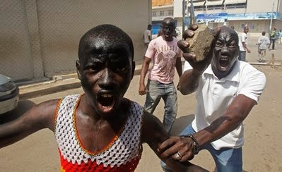 IVORY COAST PEOPLE READY TO KILL EACH OTHER AGAIN!