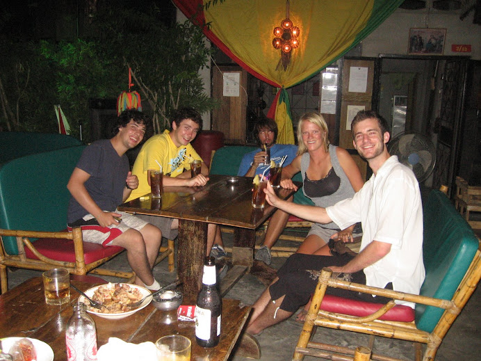 Partying in Krabi